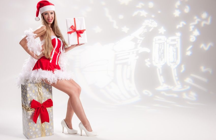 Christmas party model